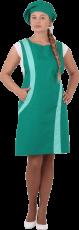 Униформа ВИНТАЖ, зелёный-салатовый