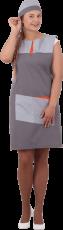 Униформа ГРАНЬ, серый-оранжевый