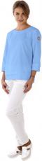 Блуза Лодочка (голубая)
