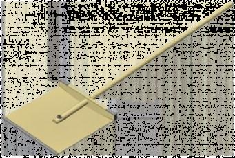 Лопата фанерная 400х400
