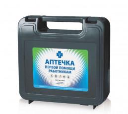 Аптечка 1-й помощи работникам по приказу №169 Н (пластиковый чемодан) Аппомед
