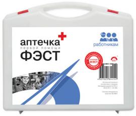 Аптечка ПЕРВОЙ ПОМОЩИ РАБОТНИКАМ по приказу №169 Н сумка (компактная упаковка)