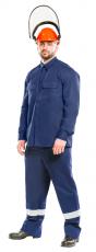 Куртка - рубашка 13 кал/см2 из огнезащитной ткани WORKER