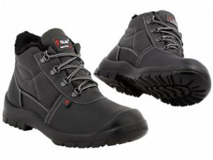 Ботинки Стандарт искусственный мех, металлический подносок (ВА 4112муb)